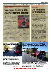 2013 HAULIN' THE HUME NEWSLETTER - Part B